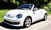 Кабриолет Volkswagen Beetle белый