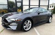 Ford Mustang GT серый 2018 аренда спортивных автомобилей